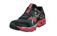 MIZUNO Men&#039;s Wave Enigma 2 noir sombre spicy red argent